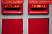Royal Mail Post Boxes.