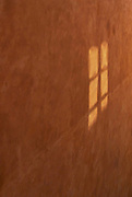 Window reflection, Orvieto, Italy