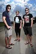 Enter Shakari photographed backstage on Warped Tour, July 5, 2010