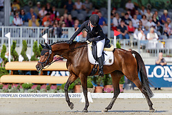 Vogel Anna-Katharina, GER, Quintana P<br /> European Championship Eventing<br /> Luhmuhlen 2019<br /> © Hippo Foto - Dirk Caremans
