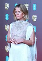 Alice Eve, EE British Academy Film Awards, Royal Albert Hall, London, UK, 02 February 2020, Photo by Richard Goldschmidt