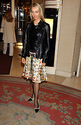 HEATHER TCHENGUIZ at a ladies lunch in aid of the NSPCC held at The Ritz, Piccadilly, London on 7th March 2006.<br /><br />NON EXCLUSIVE - WORLD RIGHTS