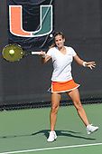 1/23/10 Women's Tennis vs Florida Atlantic