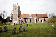 Church of St Mary, Helmingham, Suffolk. Once featured in TV programme 'Only Fools and Horses'