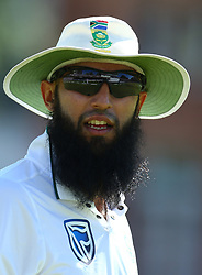 July 8, 2017 - London, United Kingdom - Hashim Amla of South Africa .during 1st Investec Test Match Day Three between England and South Africa at Lord's Cricket Ground in London on July 08, 2017  (Credit Image: © Kieran Galvin/NurPhoto via ZUMA Press)