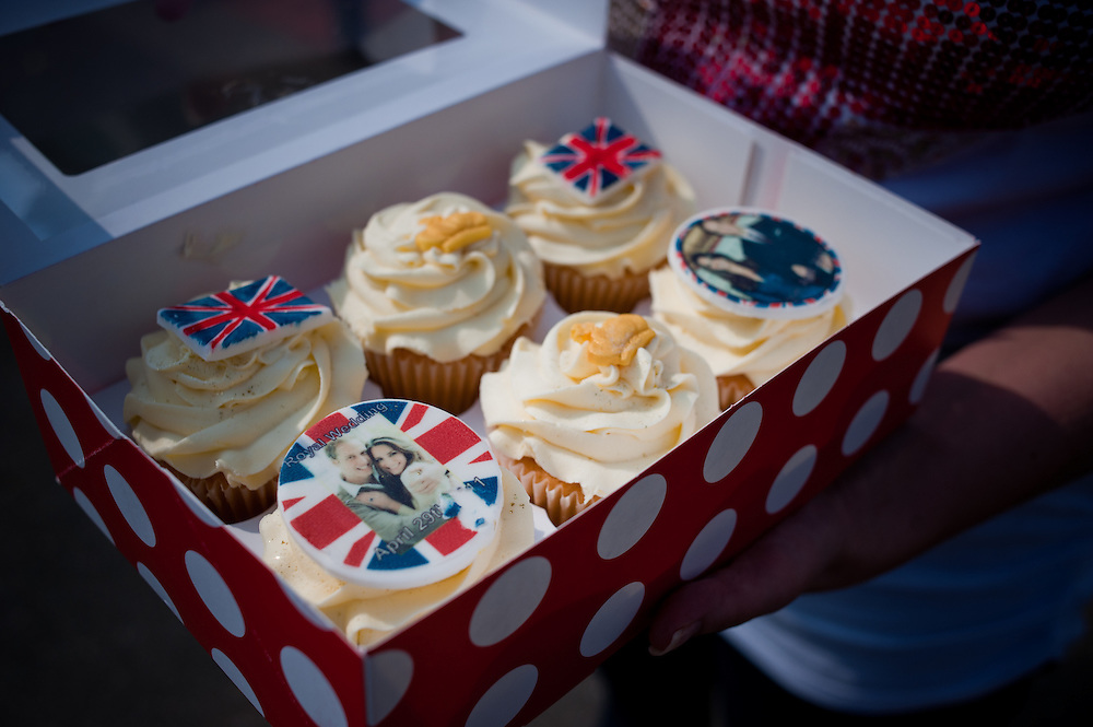Royal Wedding themed cakes.