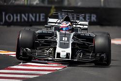 May 25, 2017 - Monaco, Monaco - 08 GROSJEAN Romain from France of Haas VF-17 Ferrari Haas F1 team during the Monaco Grand Prix of the FIA Formula 1 championship, at Monaco on 25th of 2017. (Credit Image: © Xavier Bonilla/NurPhoto via ZUMA Press)