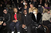 Puff Daddy at Marc Jacobs fashion show. NY State Armory, Lexington Ave,  New York. 8/2/00<br />