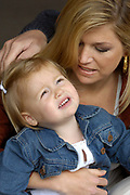 Fotoshoot dutch royal family with the crownprince Willem Alexander, princess Maxima and their childeren Amalia, Alexia and baby Ariane<br /> <br /> On The Photo: Maxima and Alexia