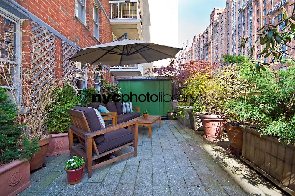Patio at 420 West 23rd St