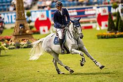Philippaerts Olivier, BEL, H&M Cue Channa<br /> CHIO Aachen 2019<br /> Weltfest des Pferdesports<br /> © Hippo Foto - Sharon Vandeput<br /> Philippaerts Olivier, BEL, H&M Cue Channa