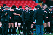 2004/05 Powergen Cup, Saracens vs Newcastle Falcons, 19.12.2004, Watford, ENGLAND: Rob ANDREW,  overseeing the pre game training, , Watford, Hertfordshire, England, UK., 19th December 2004, [Mandatory Credit: Peter Spurrier],