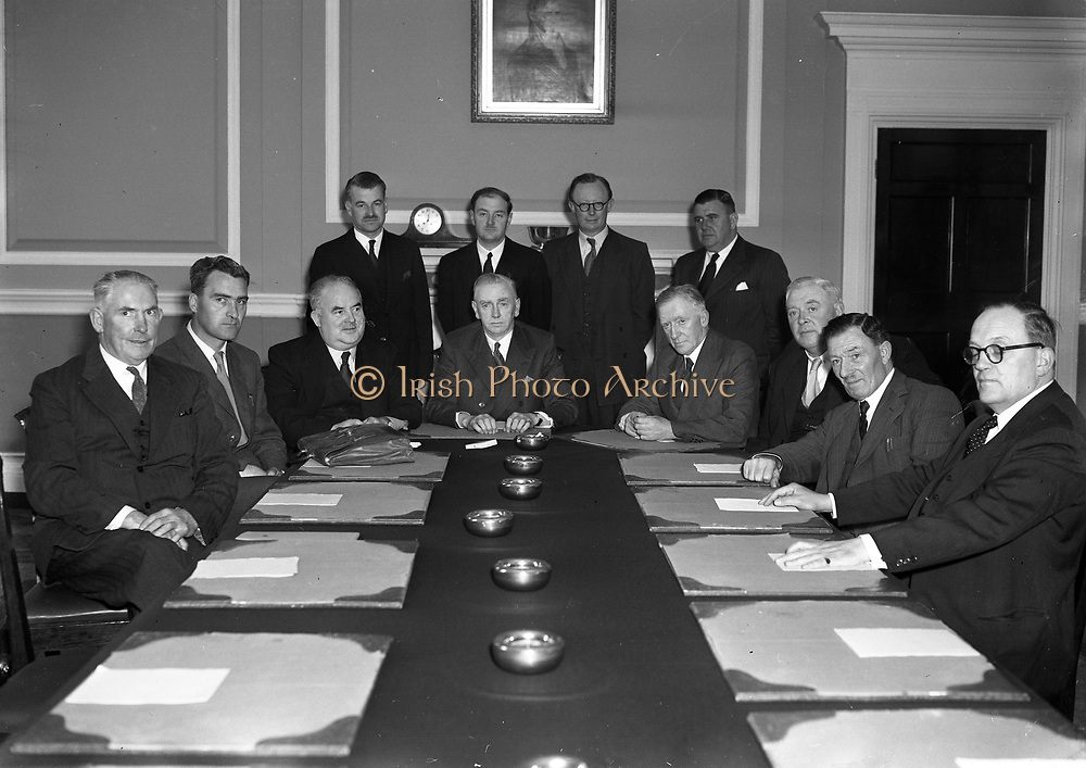 Cabinet 1954-57 Taoiseach John A. Costello Fine Gael Tánaiste William Norton Labour Party Minister for Industry and Commerce Minister for Education Richard MulcahyFine Gael Minister for Lands Joseph BlowikClann na Talmhan Minister for Justice James EverettLabour Party Minister for Agriculture James Dillon Fine Gael Minister for Defence Seán Mac Eoin Fine Gael Minister for Posts and Telegraphs Michael Keyes Labour Party Minister for External Affairs Liam Cosgrave Fine Gael Minister for Social WelfareBrendan Corish Labour Party Minister for Finance Gerard Sweetman Fine Gael Minister for Local Government Patrick O'Donnell Fine Gael Minister for Health Tom O'Higgins Fine Gael 3rd June 1954 3-6-1954