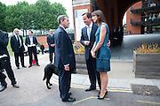 DAVID BLUNKETT; DAVID CAMERON; SAMANTHA CAMERON; , Summer party hosted by Rupert Murdoch. Oxo Tower, London. 17 June 2009
