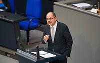 DEU, Deutschland, Germany, Berlin, 31.01.2019: Christian Schmidt (CSU) bei einer Rede während einer Plenarsitzung im Deutschen Bundestag.