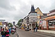Mielno. Ulica Tadeusza Kościuszki
