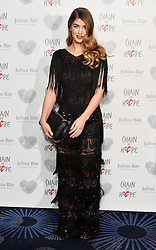 © Licensed to London News Pictures. 18/11/2016. AMY WILLERTON attends the Chain Of Hope Annual Ball raising awareness and helping children with heart conditions in third world countries. London, UK. Photo credit: Ray Tang/LNP