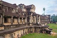 Inside Angkor Wat, at Angkor Archaeological Park in Siem Reap, Cambodia.
