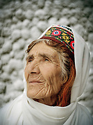 People are known to live well above 100 years old. People and places of the Hunza Valley, in the heart of the Karakoram mountain Range, North Pakistan.