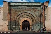 Gate to the Kasbah, Marrakesh