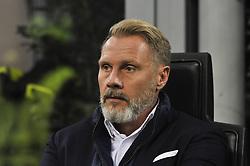 November 23, 2017 - Milan, Italy - Thorrsten Fink head coach of FK Austria Wien during uefa Europa League AC Milan vs FK Austria Wien at San Siro Stadium (Credit Image: © Gaetano Piazzolla/Pacific Press via ZUMA Wire)