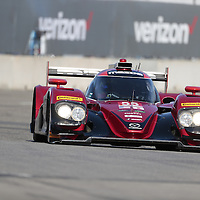 Detroit, MI - Jun 03, 2016:  The SpeedSource Mazda races through the turns at the Detroit Grand Prix at Belle Isle Park in Detroit, MI.