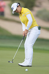 March 23, 2019 - Phoenix, AZ, U.S. - PHOENIX, AZ - MARCH 23: Sei Young Kim putts on the 18th hole during the third round of the Bank of Hope LPGA Golf Tournament at the Wildfire Golf Club on March 23, 2019, at JW Marriott Phoenix Desert Ridge Resort & Spa in Phoenix, Arizona. (Photo by Will Powers/Icon Sportswire) (Credit Image: © Will Powers/Icon SMI via ZUMA Press)