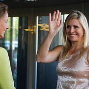 NLD/Amsterdam/20120704 - H.K.H. Prinses Maxima bij 3de kennismakinsconcert koninklijk Concertgebouworkest