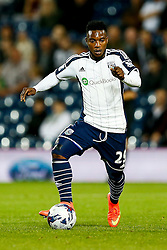 Stephane Sessegnon of West Brom in action - Photo mandatory by-line: Rogan Thomson/JMP - 07966 386802 - 26/08/2014 - SPORT - FOOTBALL - The Hawthorns, West Bromwich - West Bromwich Albion v Oxford United - Capital One Cup Round 2.
