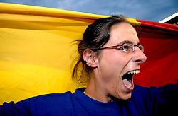 11-08-2006 ATLETIEK: EUROPEES KAMPIOENSSCHAP: GOTHENBURG <br /> Tia Hellebaut (BEL) wint het hoogspringen bij de vrouwen<br /> ©2006-WWW.FOTOHOOGENDOORN.NL