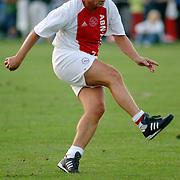 NLD/Hilversum/20060920 - Jubileumwedstrijd VV Altius - Lucky Ajax, Keje Molenaar