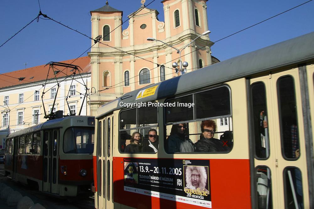 tram in Bratislava, Slovakia