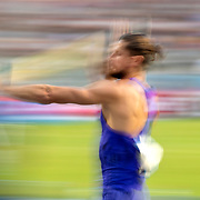 BRUSSELS, BELGIUM:  September 3:  Rutger Koppelaar of the Netherlands in action during the pole vault competition at the Wanda Diamond League 2021 Memorial Van Damme Athletics competition at King Baudouin Stadium on September 3, 2021 in  Brussels, Belgium. (Photo by Tim Clayton/Corbis via Getty Images)