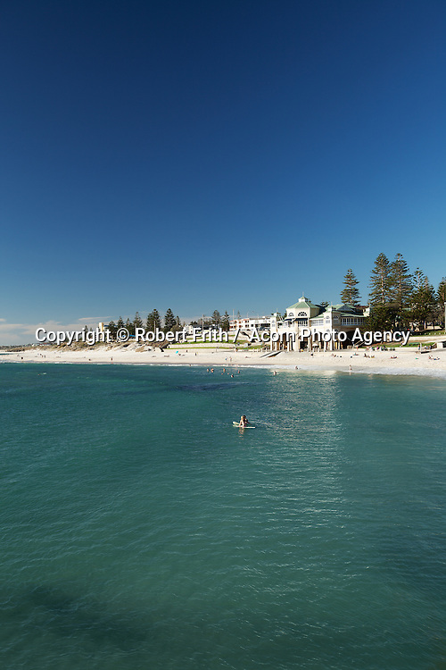 View over Cottesloe Main Beach to Indiana Tea Rooms