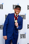 Cole Swindell is seen arriving at BMI Awards at BMI Nashville on Tuesday, November 7, 2017, in Nashville, Tenn. (Photo by Wade Payne/Invision/AP)