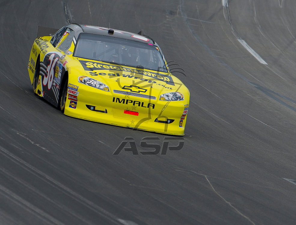 Sparta, KY - JUN 29, 2012: Dave Blaney (36) during qualifying for the Quaker State 400 at Kentucky Speedway in Sparta, KY.