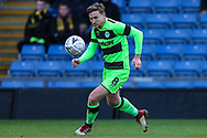 Forest Green Rovers Dayle Grubb(8) runs forward during the The FA Cup 1st round match between Oxford United and Forest Green Rovers at the Kassam Stadium, Oxford, England on 10 November 2018.