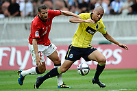 FOOTBALL - TOUNOI DE PARIS 2010 - PARIS SAINT GERMAIN v FC PORTO - 31/07/2010 - PHOTO GUY JEFFROY / DPPI - SYLVAIN ARMAND (PSG) / MAICON ROQUE (POR)
