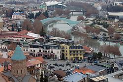 Saint George's Church & Bridge Of Peace, Tbilisi