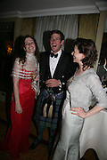 Susannah Gammell, Malcolm Borwick and Catrina Bovill, The Royal Caledonian Ball 2007. Grosvenor House. 4 May 2007.  -DO NOT ARCHIVE-© Copyright Photograph by Dafydd Jones. 248 Clapham Rd. London SW9 0PZ. Tel 0207 820 0771. www.dafjones.com.