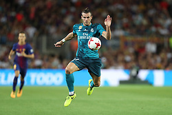 August 13, 2017 - Barcelona, Spain - Gareth Bale of Real Madrid during the Spanish Super Cup football match between FC Barcelona and Real Madrid on August 13, 2017 at Camp Nou stadium in Barcelona, Spain. (Credit Image: © Manuel Blondeau via ZUMA Wire)