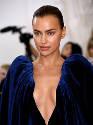 Irina Shayk attending the Metropolitan Museum of Art Costume Institute Benefit Gala 2019 in New York, USA.