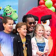 NLD/Amsterdam/20190814 - Premiere Angry Birds 2, Rogier Komproe en .......