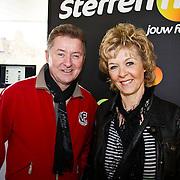 NLD/Hilversum/20100402 - Start Sterren.nl radiostation, Jan Keizer en Annie Schilder