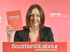 Kezia Dugdale launches manifesto | Edinburgh | 22 May 2017