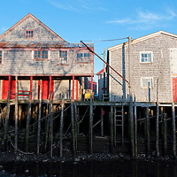 The Sardine Museum in Seal Cove, Grand Manan. Sardine canneries have been an important industry on the island, but now most have shut down. One recent closer cost around 100 jobs, a serious blow to a population of around 2,400.  Photo by William Drumm.