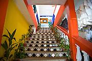 Mexican staircase near Coba