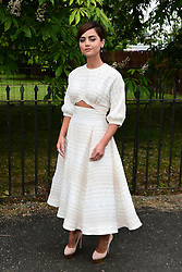 File photo dated 06/07/16 of Jenna Coleman who has in the past been spotted enjoying the company of Prince Harry at a polo match.