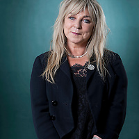 Helen Lederer, the English comedienne, writer and actress, at the Edinburgh International Book Festival 2015.<br /> Edinburgh, Scotland. 25th August 2015 <br /> <br /> Photograph by Gary Doak/Writer Pictures<br /> <br /> WORLD RIGHTS