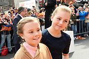 Koningsdag 2017 in Tilburg / Kingsday 2017 in Tilburg<br /> <br /> Op de foto / On the photo: Prinses Ariane en Prinses Alexia  / Princess Ariane and Princess Alexia
